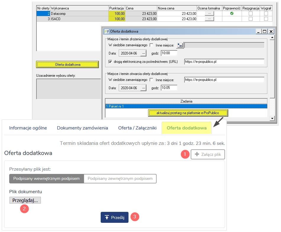 Funkcje użytkowe Platforma e ProPublico 10