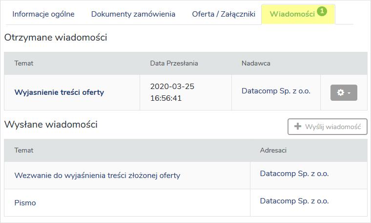Funkcje użytkowe Platforma e ProPublico 12
