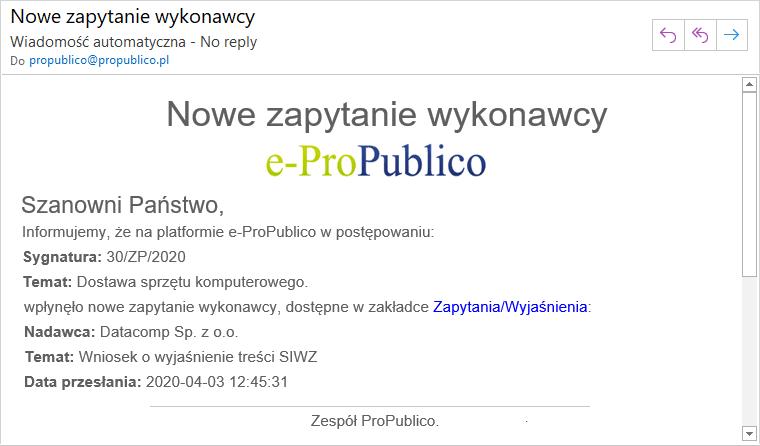 Funkcje użytkowe Platforma e ProPublico 13